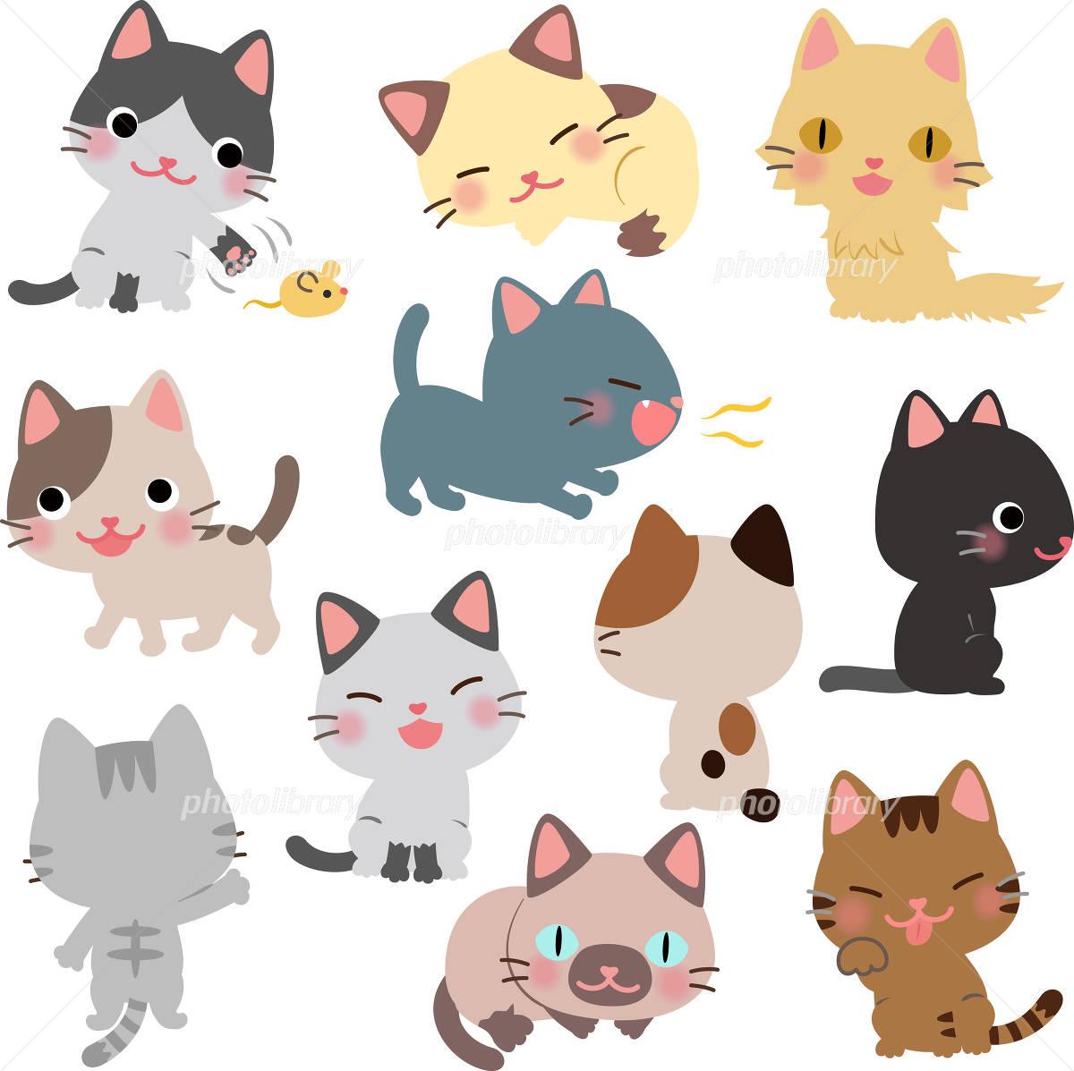 「猫 イラスト」の画像検索結果